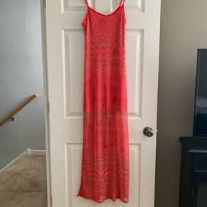 Beautiful coral maxi dress from Windsor